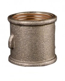 Luva roscavel de 1 polegada em metal