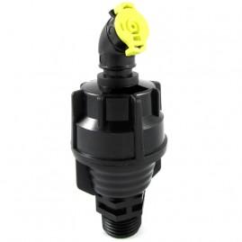 Aspersor autocompensante rotativo JET 10 irrigação bocal amarelo 450 L/h