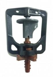 Microaspersor rotativo bocal marrom 52 L/h