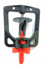 Microaspersor rotativo bocal vermelho 98 L/h