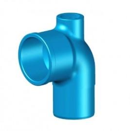 Curva P/ Registro 75mm Rosca 1 polegadas para irrigação