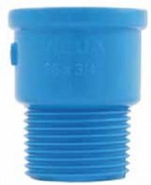 Adaptador Soldável Curto 25 x 3/4 polegadas para irrigação rosca externa