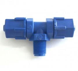 Te 8 x 8 x 1/8 mm para tubo de comando