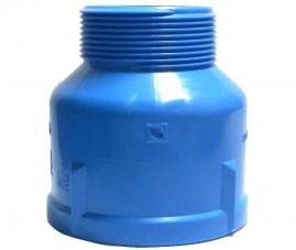Adaptador 75 x 1.1/2 polegadas para irrigação rosca externa