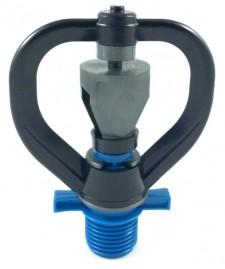 Microaspersor para irrigação Aquafly Bocal Azul 500 L/h Diametro 12 m duplo giro