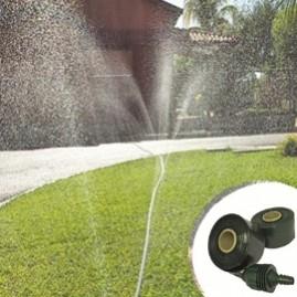 Kit de irrigação Santeno Jardim com 10 m de mangueira micro perfurada verde