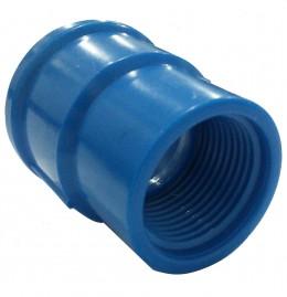 Luva LR 32 x 3/4 polegada Azul Irrigação