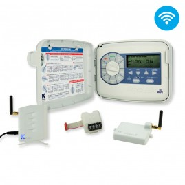 Programador Modular de Irrigação Wifi Online PRO EX 2.0 220V 4 estações expansível para 16 estações