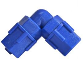 Joelho 8 x 8 mm para tubo de comando