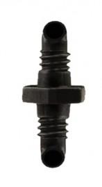 Conector roscado para microtudo de 4 mm interno