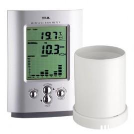 Pluviômetro Digital Sem Fio Com Sensor E Transmissor 4760