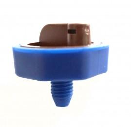 Gotejador 4 L/h para irrigação com sistema de limpeza fácil
