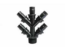 Distribuidor 5 saídas 16mm rosca 3/4