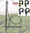Microaspersor Rotativo Bailarina Para Irrigação Estaca 60cm Microtubo 1 mt