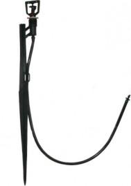 Microaspersor Twister (134 l/h) com estaca de 36cm - Kit com 10 und