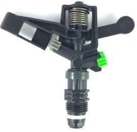 Aspersor Para Irrigação Bocal Duplo 510 L/h Rosca Macho 1/2