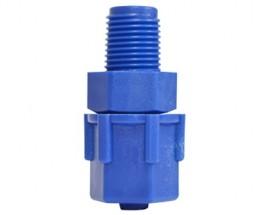 Conector Reto 8mm x 1/8mm para tubo de comando