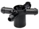 Manifold com 4 saídas para gotejador Idrop - Pacote com 10 peças