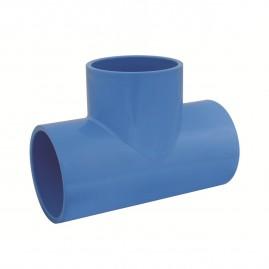 Tê soldável para irrigação pvc 100 mm