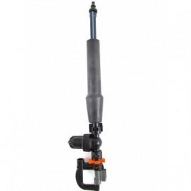 Microaspersor Invertido Para Viveiro Com Anti-Gotas Bocal Laranja 76 L/h Completo