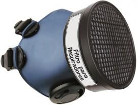 Máscara para defensivos agrícolas respirador com Filtro Plástico