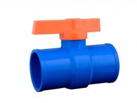 Registro esfera 32 mm de PVC saída soldável