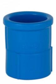 Luva LR 25 x 1/2 polegada Azul Irrigação