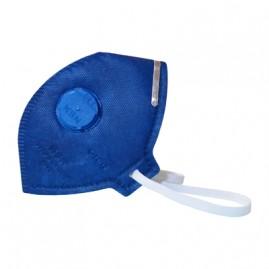 Máscara para partículas tóxicas com filtro de carvão ativado e respirador